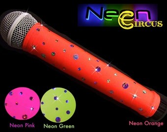 Microphone Cover Sleeve (NEON CIRCUS) for CORDLESS mics