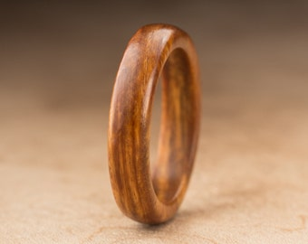 Size 8.25 - Guayacan Wood Ring No. 390