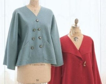 Simple Swing Jacket – IJ700 INDYGO JUNCTION- NEW! Sewing Pattern