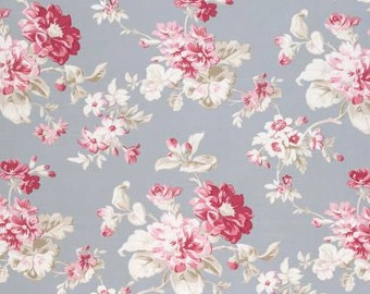 NEW Winters Garden from Tanya Whelan Floral in Grey 1 yard