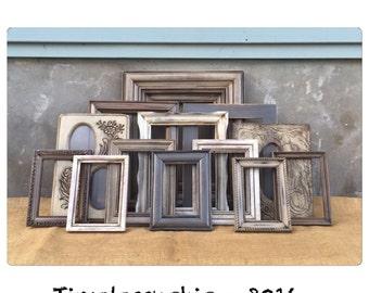 PICTURE FRAME - Picture Frames - Rustic Picture Frame - Shabby Chic Frames -Farmhouse Decor - CHIC