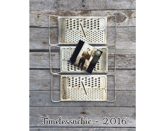Message Board - Magnetic Message Board - Shabby Chic Decor - Farmhouse Kitchen - Farmhouse Decor - Chic