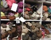 My Handspun Stash Down