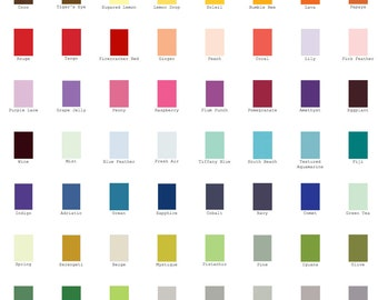 "Color Flat Cards ( 5""x7"" ) for A7 25/Pk"