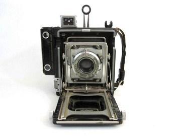 Vintage Graflex Crown Graphic Press Camera. Circa 1940's.