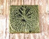Ceramic Tile - Waterlily Tile Wall Art - 987