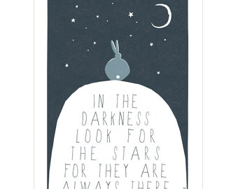 Look For The Stars - Fine Art Print