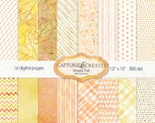 Simply Fall - Digital Paper Pack *******INSTANT DOWNLOAD*********