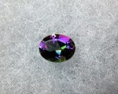 Northern Lights Mystic Topaz Gemstone - Oval Fancy Faceted Cut- 9x7mm - 1.75 Cts Total Weight