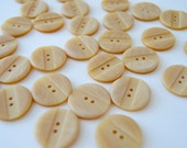 """See Shop Announcement - Honey Colored Buttons - 7/8"""" X 29"""