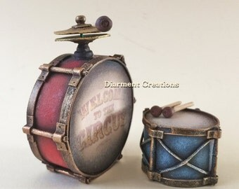 Drums Miniature 1:12 scale