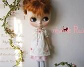 rêve de Rui x Blythe - Flower embroidered dress
