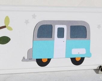 Children's Artwork Display Clips . Art Masterpiece . Camping Adventure