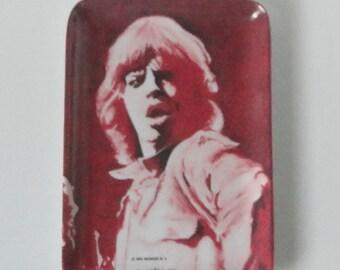 1980s Mick Jagger Melamine small Tray