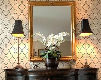 Moorish Delight Allover Stencil - Size: Small - Better than Wallpaper - DIY Home Decor