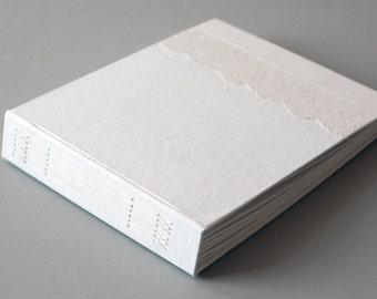 """White Linen & Antique Lace Album, 8 x 10"""""""
