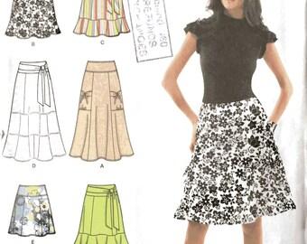 Simplicity 2655 Sewing Pattern, 16, 18, 20, 22, 24, Ladies Skirts