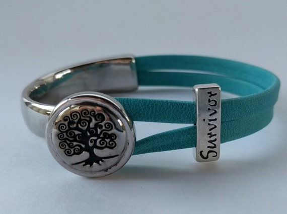Ovarian Cancer Survivor Bracelet