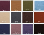 Sample Fabric with Color Chart