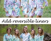 Add reversible liners to your robes