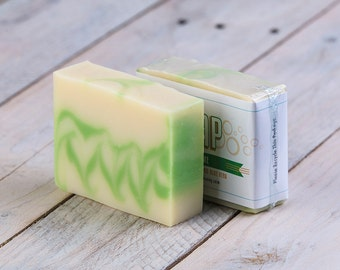 Agave Lime Soap | Vegan Soap | Lime Soap | Cold Process Soap | Women's Soap | Handmade Soap | Homemade Soap | Artisan Soap