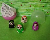 Little Weirdlings, Bubble pack,skeletons,vampires,ghouls,adorable,fun,figures,clay,stocking stuffer,gift