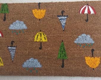 CLEARANCE SALE! Rainy Day Umbrella Doormat