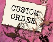 Custom listing for Michelle