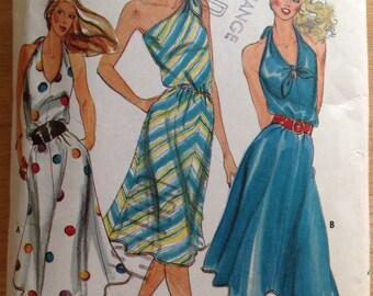 Butterick 3176 Halter Sun Dress - Size 10