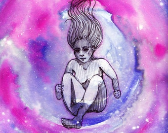 "Art Print-""From Stardust"" Original series"