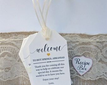 Custom Favor Tags, Wedding Favor Tags Welcome Gift Bag Tags Party Favor Tags Favor Tags, Gift Tag Party Favor Tags Welcome Tags 20-300 RB502
