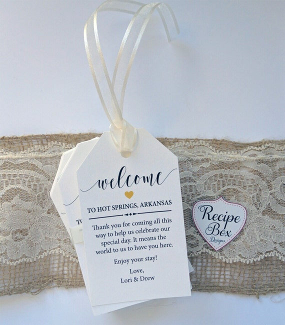 Wedding Gift Bag Cards : Favor Tags, Wedding Favor Tags Welcome Gift Bag Tags Party Favor ...
