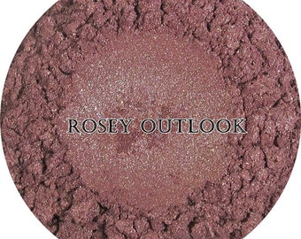 Loose Mineral Eyeshadow-Rosey Outlook