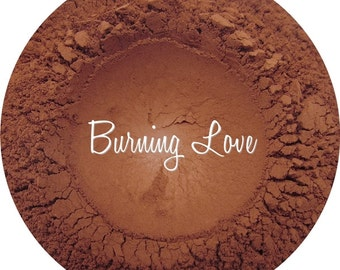 Loose Mineral Eyeshadow-Burning Love