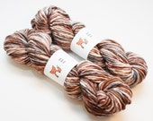 Reindeer: The Nordic Series - Hand Dyed Bulky Yarn on Arctic Fox Base Wool & Alpaca