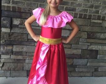 Elena of Avalor inspired dress