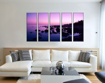 Canvas Prints - Framed Ready to Hang - 100% Quality Cotton Canvas – Prints Framed  - Beach - Office Decor Wall – Beach Prints On Canvas