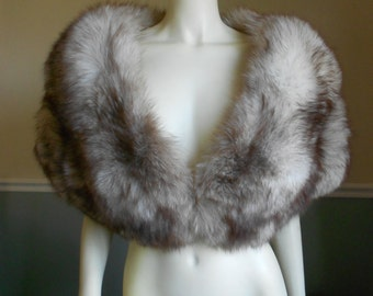 Fox Fur Stole / Wedding / Bridal