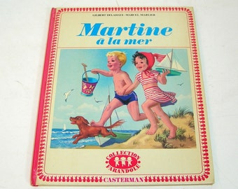 Martine a la mer, Vintage FRench Children's Book