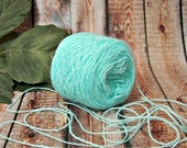 40% OFF Sea Ice Yarn, Aqua, Seafoam, Delicate Lace Weight Yarn, Perfect for Lacy Openwork or Awesome Baby Items, BIN 22