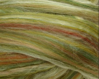 Ashland Bay Merino / Tussah Silk 70/30 - 4 ounces (oz) - GREEN