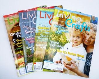 Living Crafts Magazines winter spring summer fall 2010