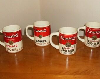 Campbell Soup Mugs