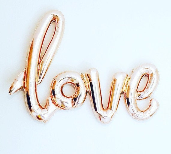 Love balloon script love balloons love photo prop by for I love you letter balloons