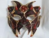 RESERVED for James - Custom Demon Mask