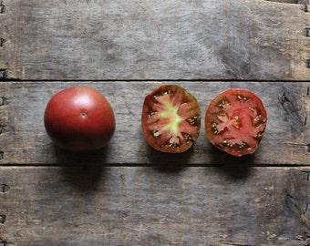 Black Krim Tomato, organic vegetable seeds, heirloom tomato seed, vegetable garden, organic vegetable gardening, gardener, organic tomato