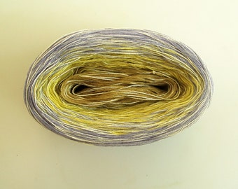 CHICORY MEDLEY --mega--  Color Changing Cotton yarn  865 yards/180 gr  Fingering Weight