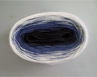 NAUTICAL II  Color Changing Cotton yarn  480 yards/100 gr  Fingering Weight