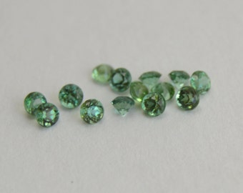 Sapphire, Green Sapphire, Sapphire Rounds, Sapphire Melee, Sapphire Gemstones, 2mm Sapphire, Sapphire for Jewelry Project