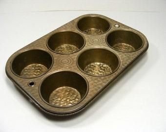 Muffin Tin Vintage Cupcake Pan